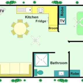 Beach Villas floor plan
